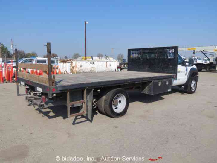 Stake Body Truck Parts : Ford f utility service trucks