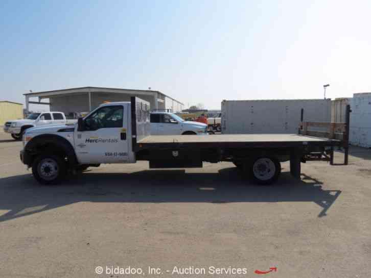 ford f550  2011    utility    service trucks
