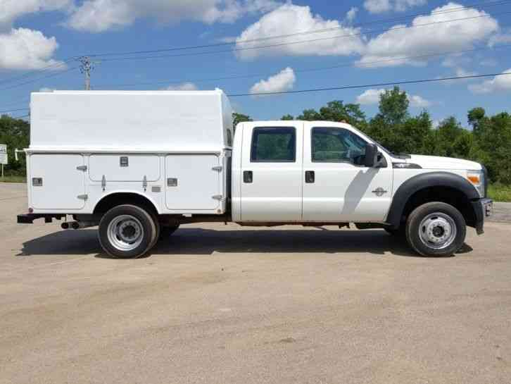 ford f550 4x4  2011    utility    service trucks