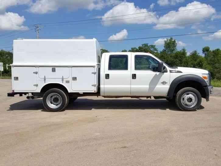 Tow Trucks For Sale Ebay >> Ford F550 4X4 (2011) : Utility / Service Trucks