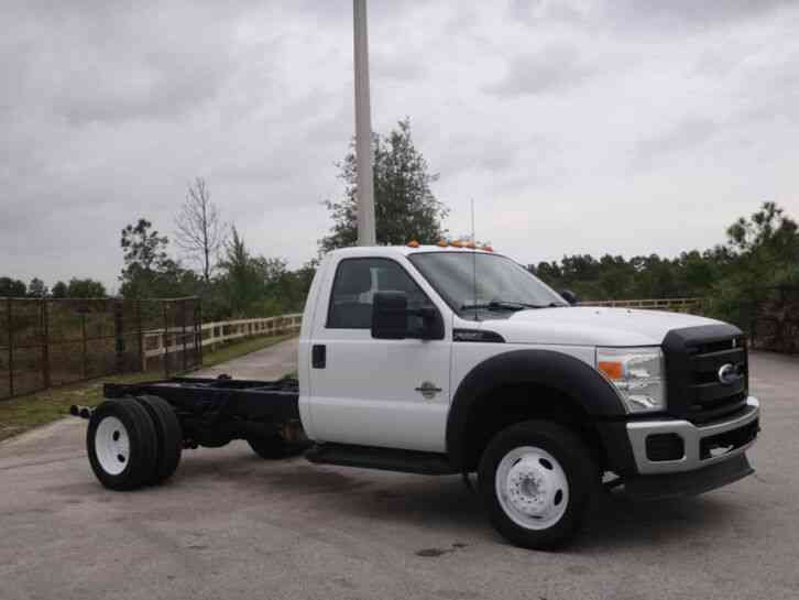 Ford F550 Super Duty Cab Chassis (2011)