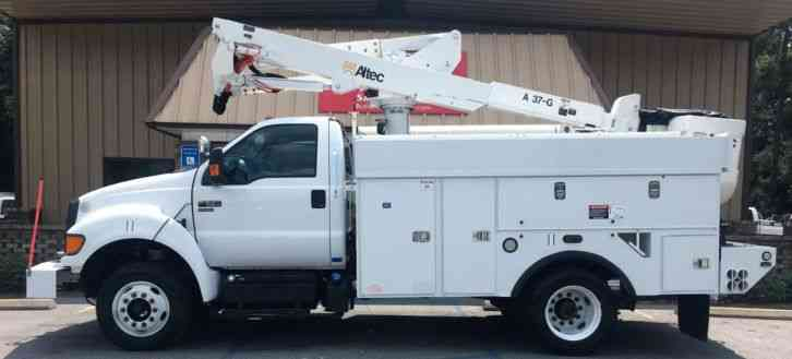 Ford F650 ProLoader Atlec AT37G Bucket Truck (2011)