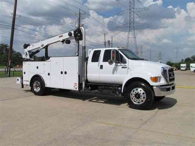 ford f 750  2011    utility    service trucks