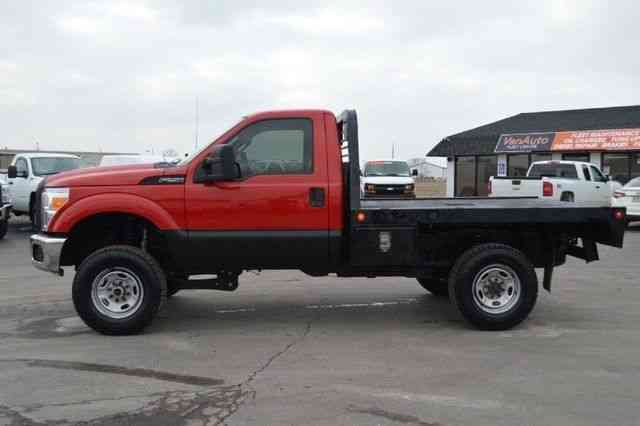 Ford Xl Diesel With Gooseneck Hitch 2011 Flatbeds