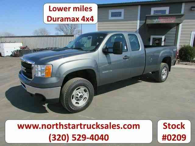 GMC 2500HD Duramax 4x4 Pickup -- (2011)