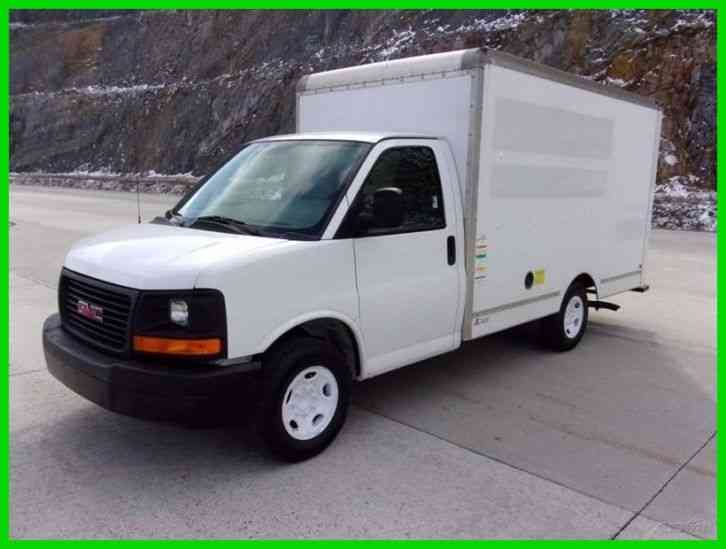 Gmc 3500 12ft Box Truck Former Budget Rental 2011 Van Box Trucks