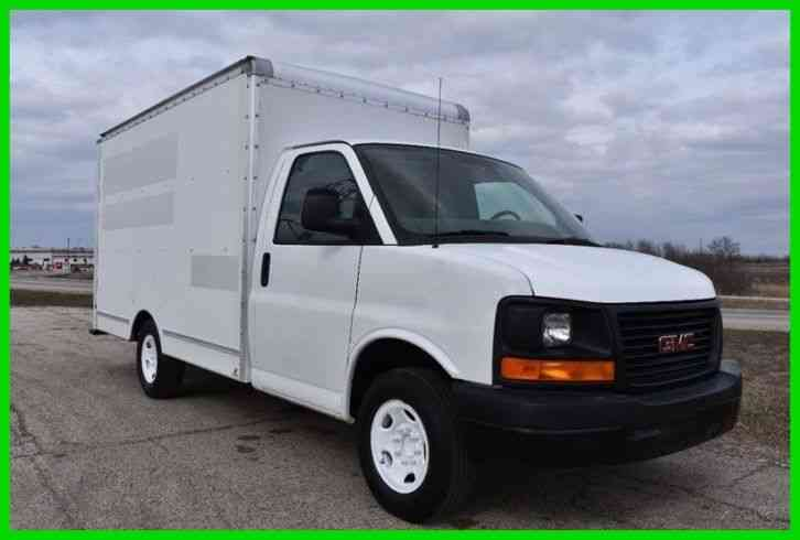 GMC Savana 3500 12ft Box Truck. (2011)