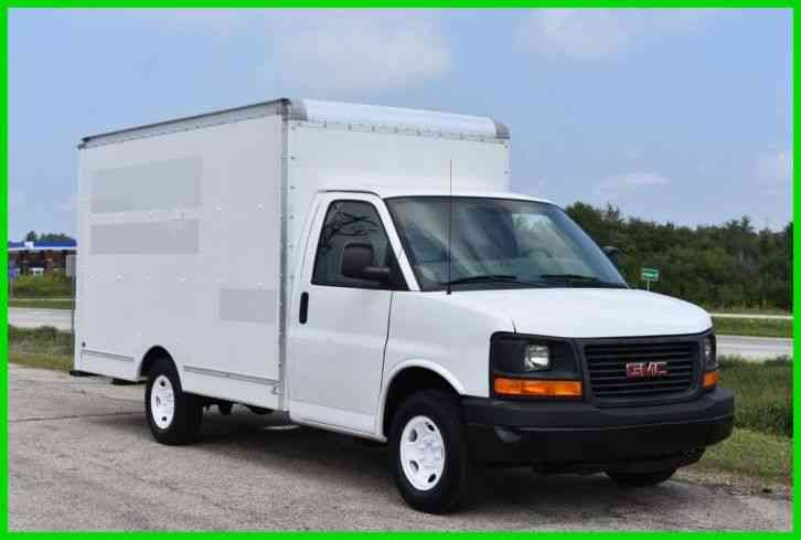 Gmc Savana 2011 Van Box Trucks