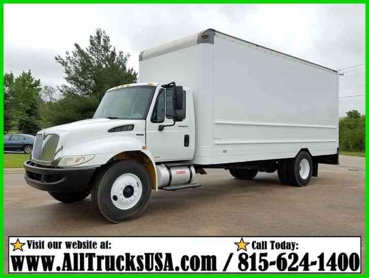 international durastar 4300 2011 van box trucks. Black Bedroom Furniture Sets. Home Design Ideas