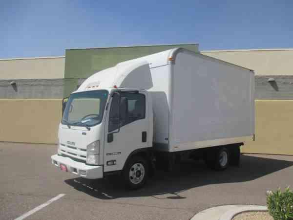 Isuzu Npr Box Truck 2011 Van Box Trucks