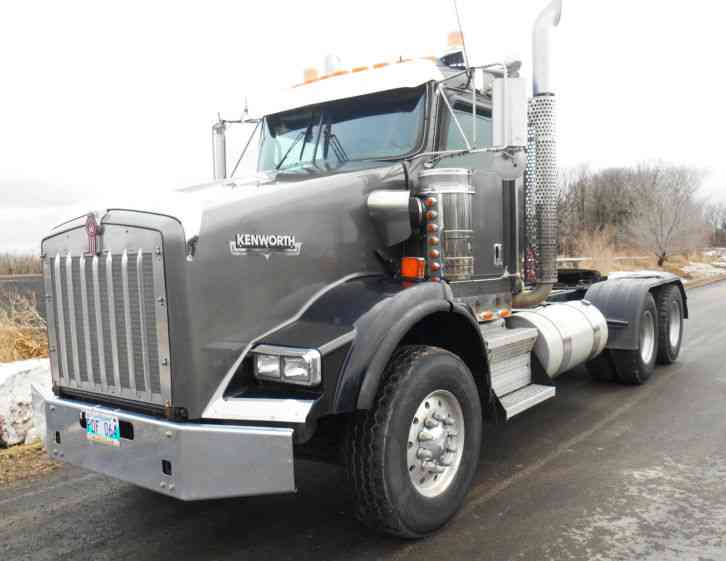 Kenworth T800 Truck Tractor, Wet kit (2011) : Daycab Semi ...