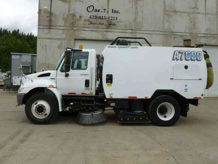 Schwarze A7000 Used Street Sweeper (2011)