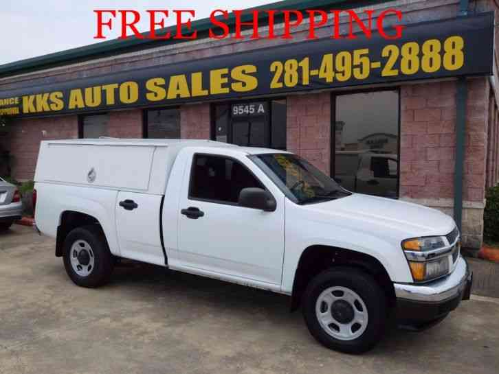 Chevrolet Colorado With Utility Box AND Exterminator Package (2012)