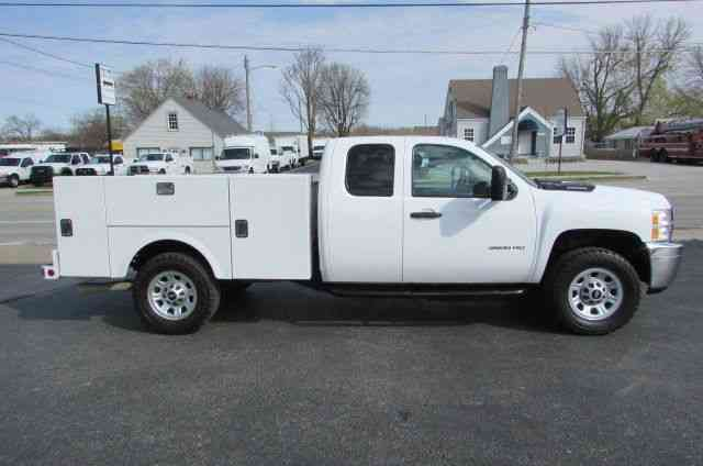 Chevrolet K3500hd Extended Cab 4x4 New Utility Bed 2012
