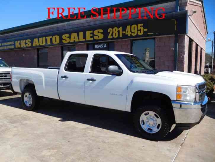 CHEVREOLET SILVERADO 2500 HD 4WD CREW CAB LONG BED (2012)