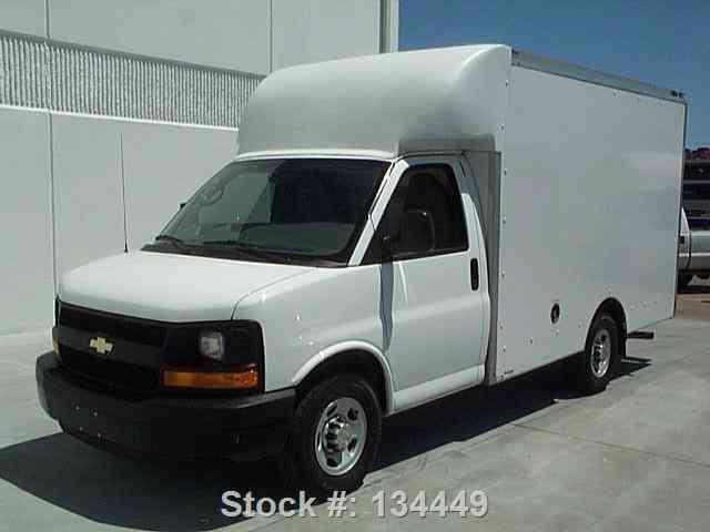 Chevy Express Work Truck Cargo Box Van K Mi Texas Direct on Isuzu Npr Diesel Manual