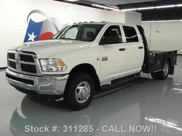 dodge ram 3500 4x4 crew diesel dually flat bed 2012 commercial pickups. Black Bedroom Furniture Sets. Home Design Ideas