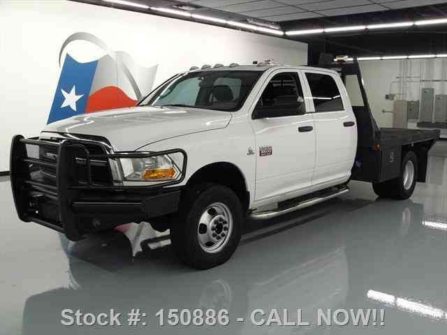 dodge ram 3500 4x4 crew diesel dually flatbed tow 2012 commercial pickups. Black Bedroom Furniture Sets. Home Design Ideas