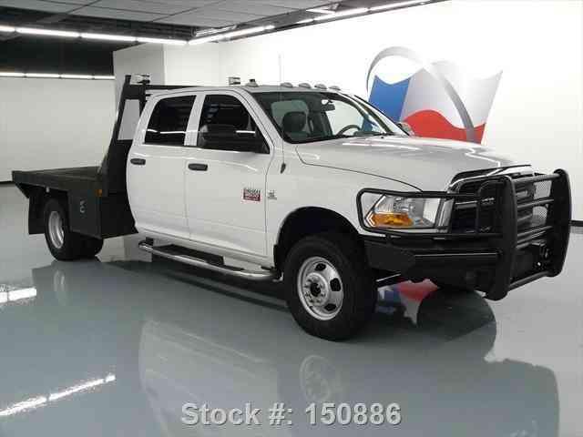 Dodge Ram X Crew Diesel Dually Flatbed Tow Texas Direct Auto on Dodge Truck Bucket Seats