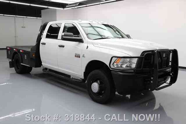 Dodge Ram Trucks For Sale >> Dodge Ram 3500 CREW 4X4 DIESEL DUALLY FLATBED (2012 ...