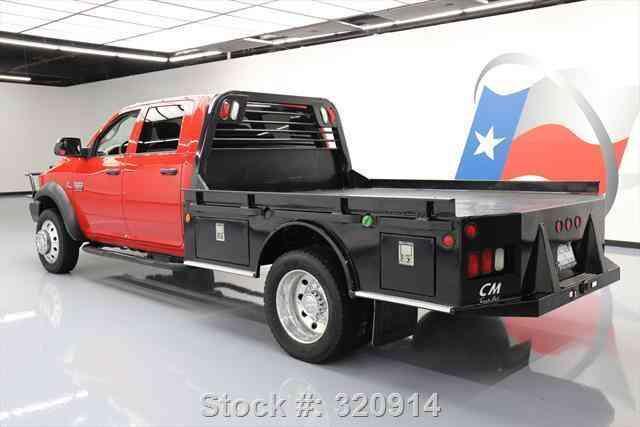 4X4 Van For Sale >> Dodge Ram 4500 CREW 4X4 DIESEL DUALLY FLATBED (2012 ...