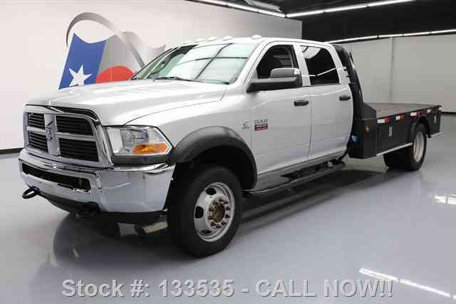 Dodge Ram 4500 CREW 4X4 DIESEL DUALLY FLATBED (2012)