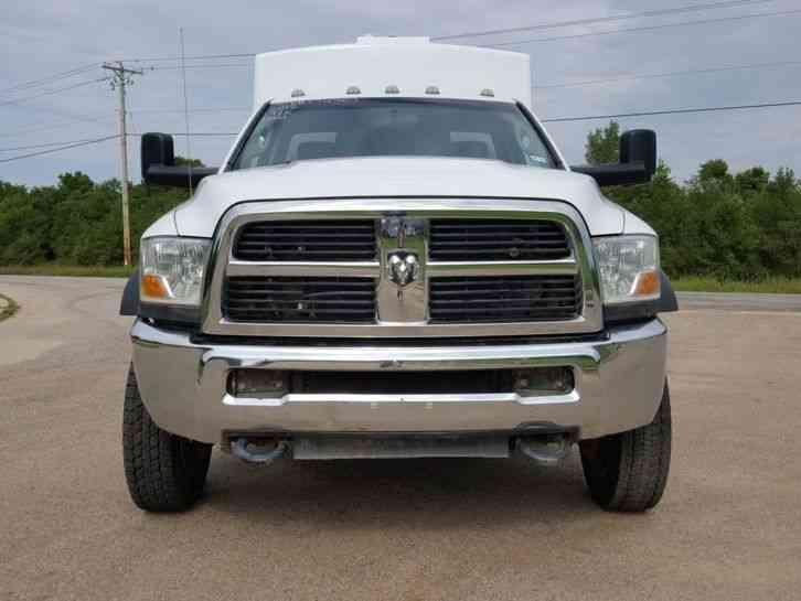 Dodge Ram 5500 >> Dodge RAM 5500 HD 4X4 (2012) : Utility / Service Trucks