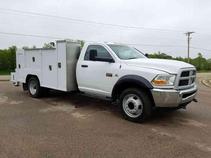 Dodge Ram 5500 Utility Service Truck Autos Post