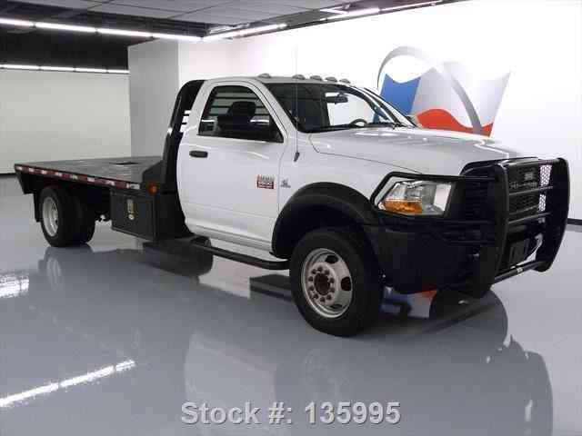 Dodge Ram 5500 Reg Cab Diesel Dually Flat Bed 2012 Commercial