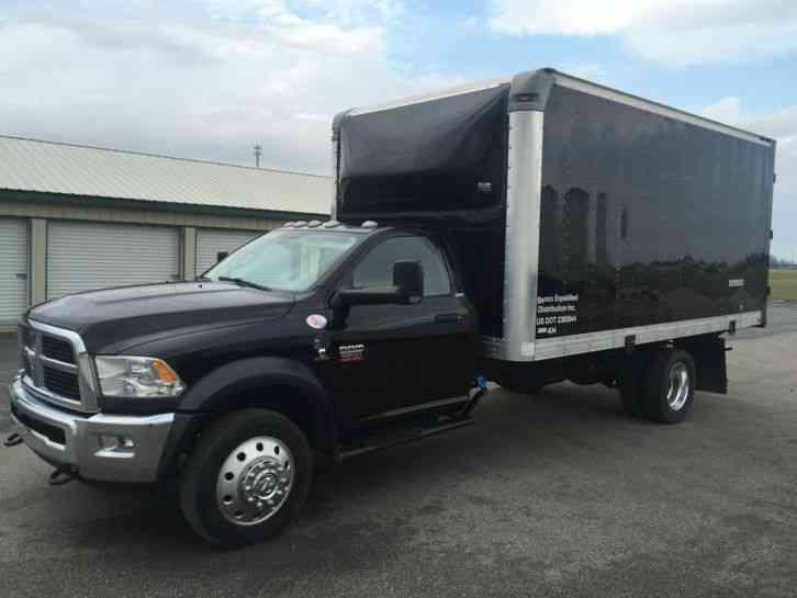 dodge ram 5500 slt heavy duty cummins diesel 2012 van box trucks. Black Bedroom Furniture Sets. Home Design Ideas