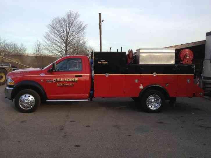 Imt Service Truck Bumper Step : Dodge ram service welding truck utility