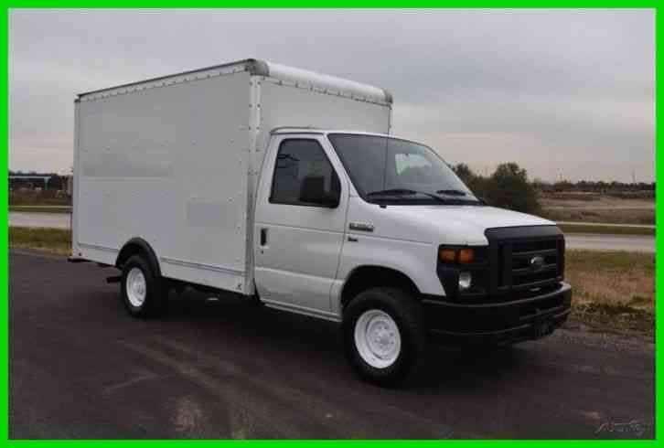 Ford E 350 12ft Box Truck 2012 Van Box Trucks