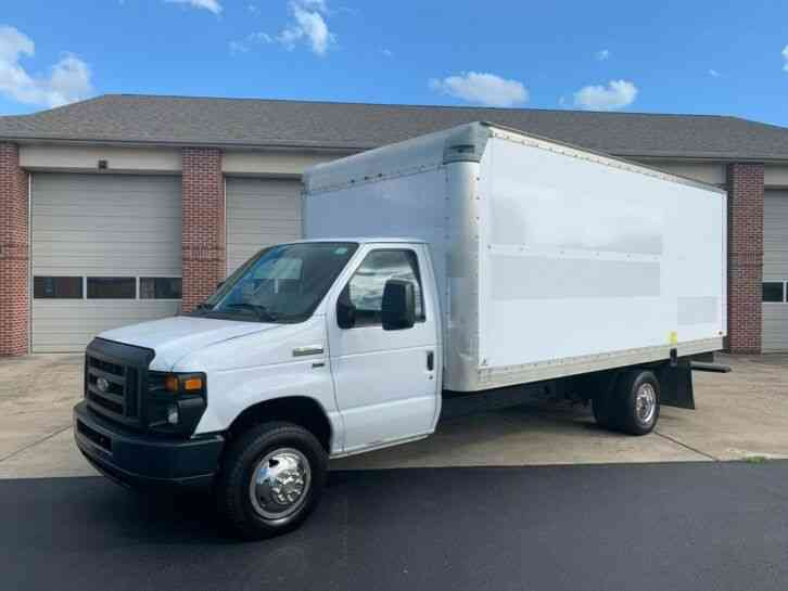 Ford E-350 16FT BOX PANEL DELIVERY TRUCK CUBE VAN (2012)