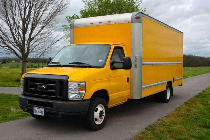 ford e350 cutaway box 2012 van box trucks. Black Bedroom Furniture Sets. Home Design Ideas