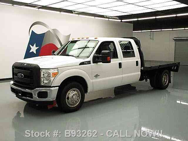 Ford F-350 CREW CAB DIESEL DRW FLAT BED 6-PASS (2012)