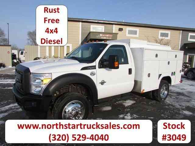 Ford F-450 4x4 Service Utility Truck -- (2012)