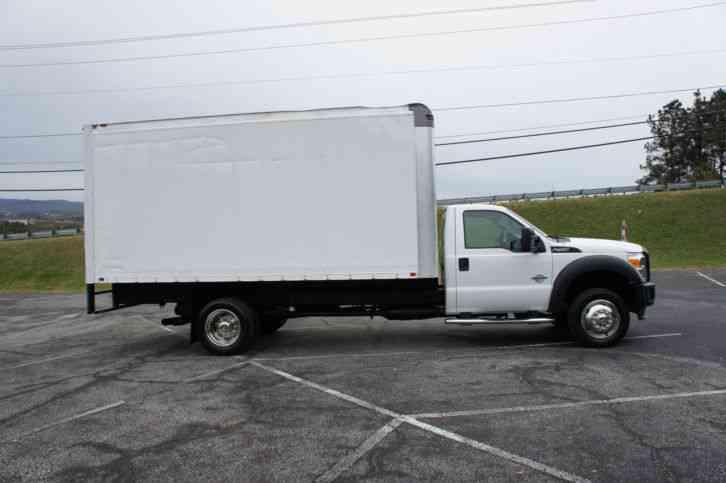 Ford F 450 2012 Van Box Trucks