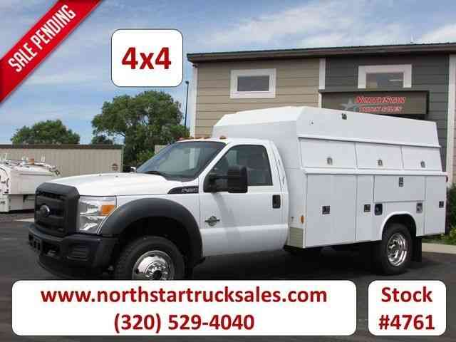 Ford F-450 Service Utility Truck -- (2012)