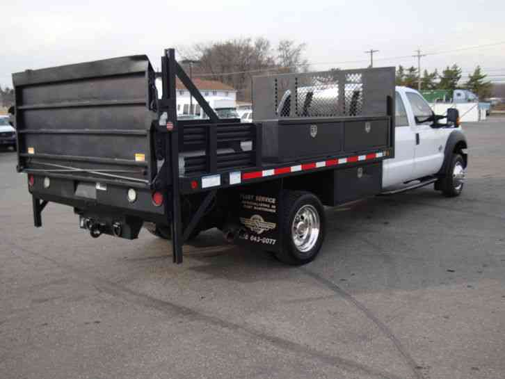 Ford F 550 Flatbed Service W Liftgate 2012 Utility