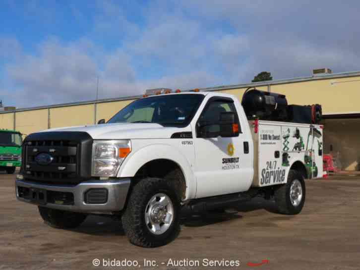 ford f250 2012 utility service trucks. Black Bedroom Furniture Sets. Home Design Ideas