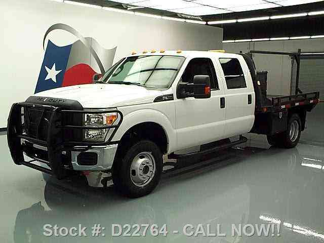 ford f 350 4x4 crew 6 2 dually flatbed aux fuel 2012 commercial pickups. Black Bedroom Furniture Sets. Home Design Ideas