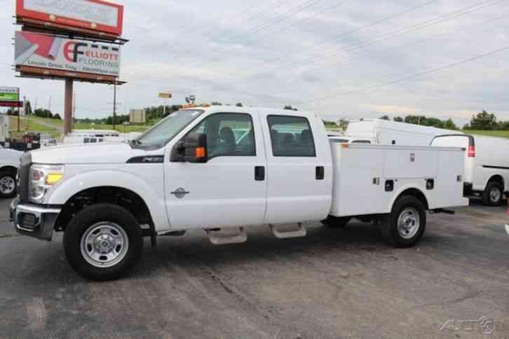 Ford F350 2012 Utility Service Trucks
