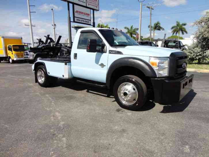 Ford F450 4X4 SELF-LOADER AUTO LOADER WRECKER TOW. . DYNAMIC (2012)