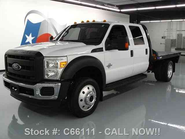 ford f 450 crew 4x4 diesel dually flatbed tow 2012 commercial pickups. Black Bedroom Furniture Sets. Home Design Ideas