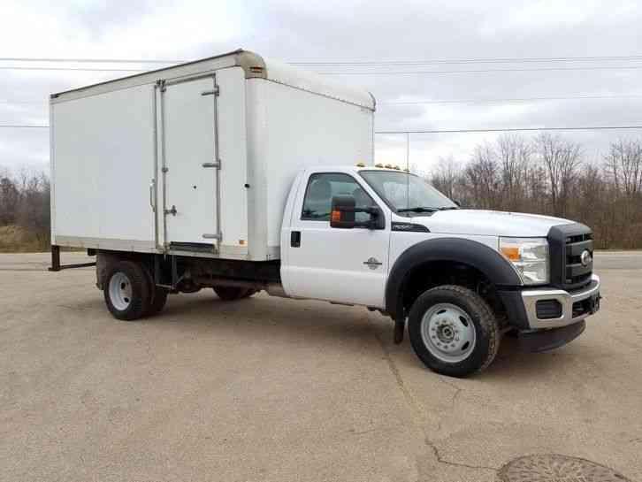 Ford F550 4x4 2012 Van Box Trucks