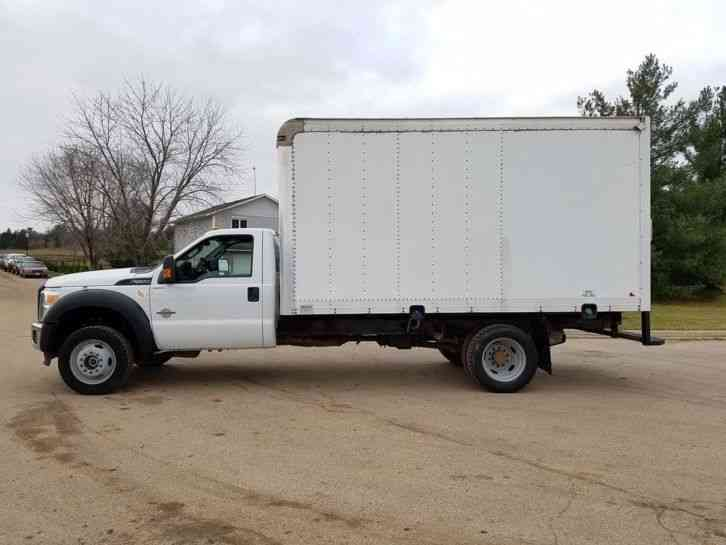 2012 Ford F550 4x4 62621