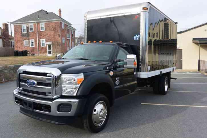 Ford F550 2012 Van Box Trucks