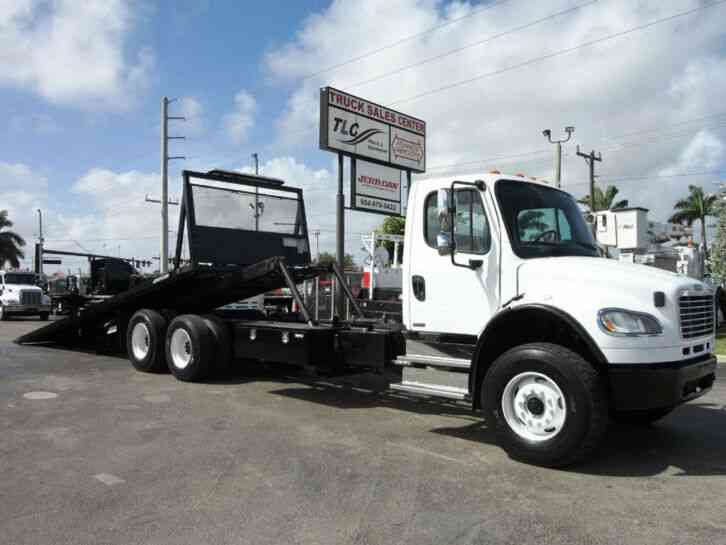 Freightliner BUSINESS CLASS M2 28FT 15 TON ROLLBACK INDUSTRIAL JERRDAN. . TAND (2012)
