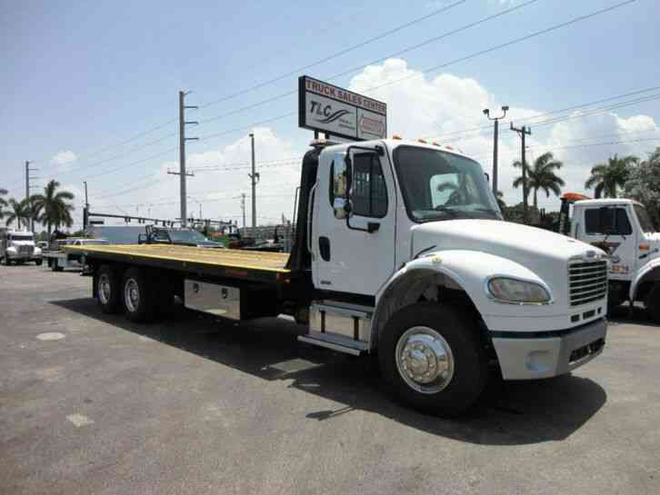 Freightliner BUSINESS CLASS M2 *NEW* 28FT JERRDAN ROLLBACK TOW TRUCK 10TON INDUST (2012)