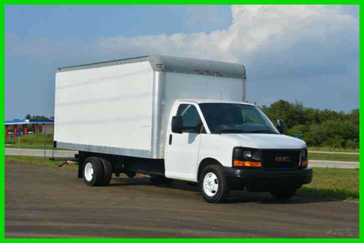 GMC 3500 16Ft Box Truck (2012)